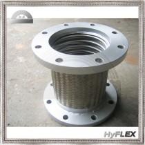 Flexible Metal Hose Pump Connector, Flange Ends