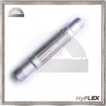 Flexible Metal Hose Pump Connector, Male NPT